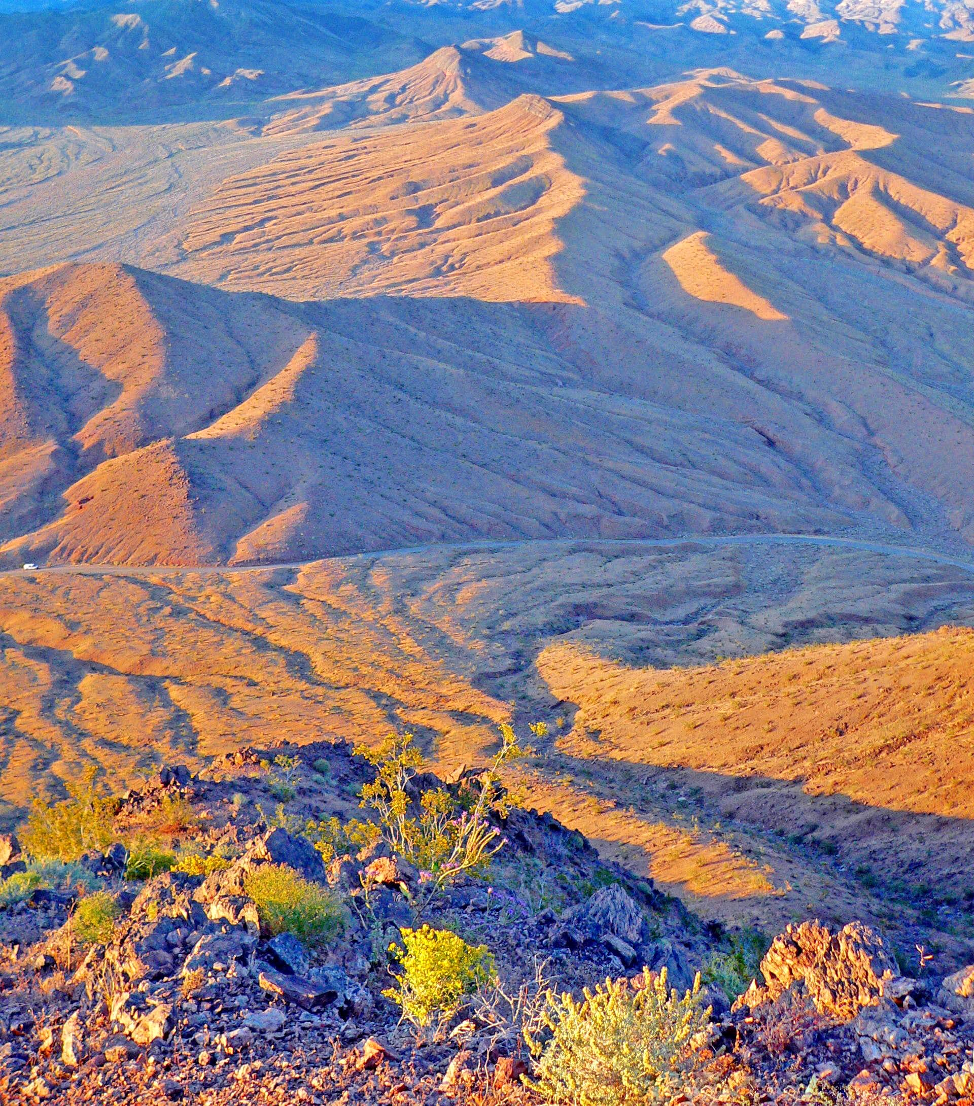 Above and around Death Valley