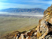 Southwest from Death Valley Buttes