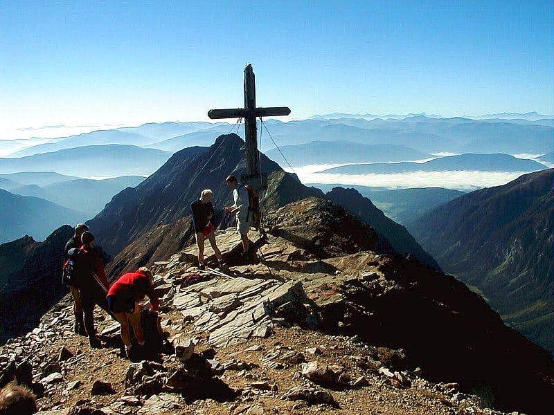 Hochgolling summit view