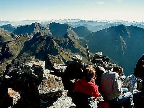 Hochgolling summit view...