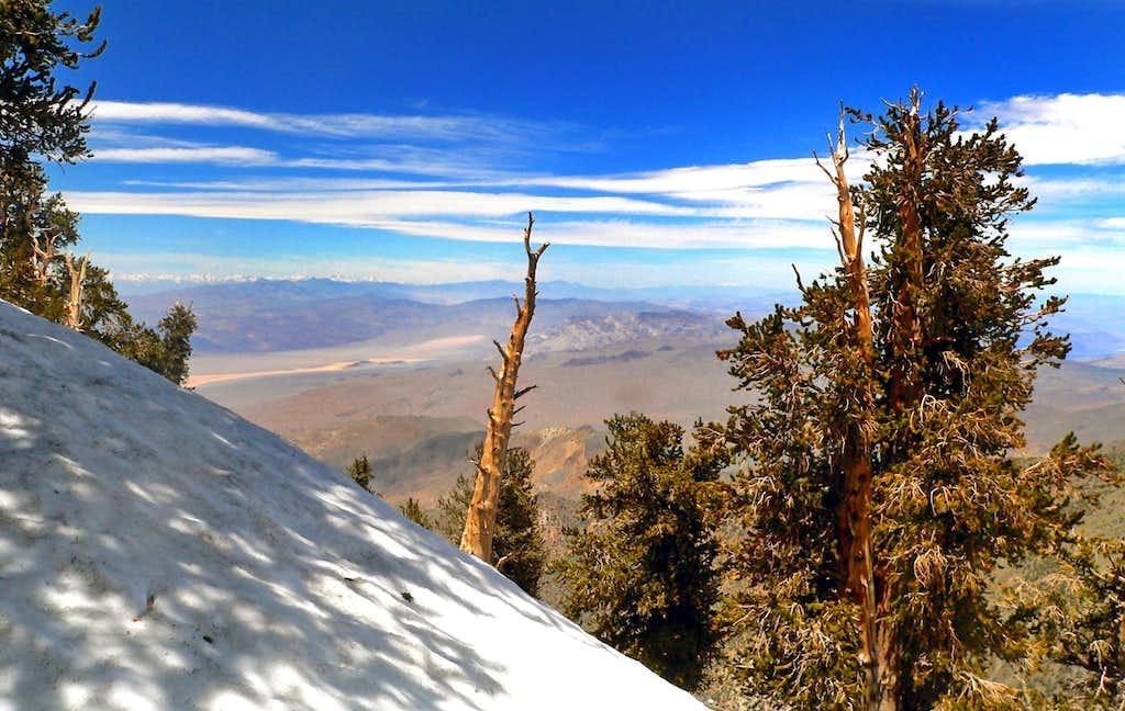 Telescope Peak northwest