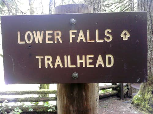 Lower Falls Trailhead