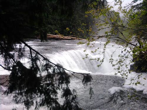 Lower Falls: From Stairs
