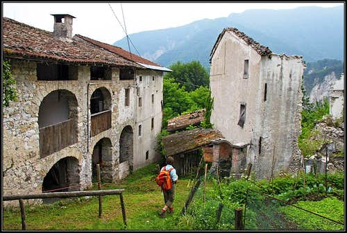 An old house in Moggessa di la