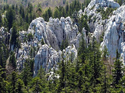 Bijele and Samarske stijene