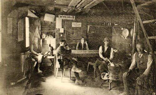 Rambert Hut in 1931