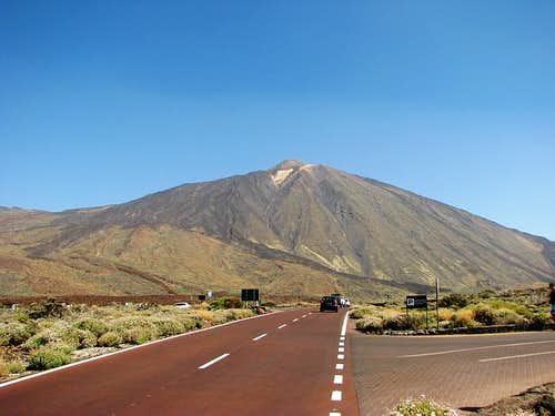 Teide from Roques de Garcia