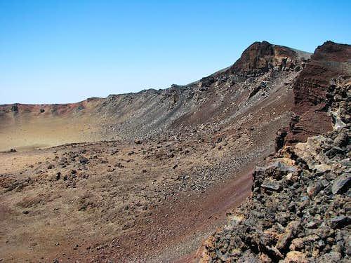 Pico Viejo crater