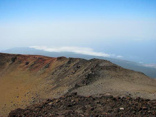 Pico Viejo summit view