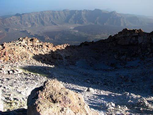Teide summit crater