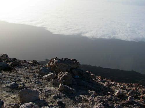 Teide summit view