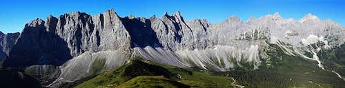 Central Karwendel Chain