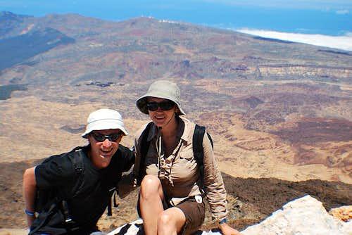 Teide summit