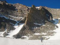 Approaching the Flying Buttress