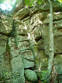 Still more of Lewis Rocks