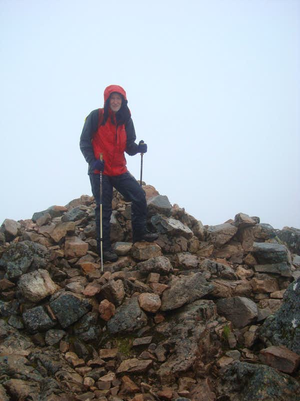Ken on Stob Dearg