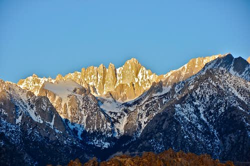 Mount Whitney & The Family