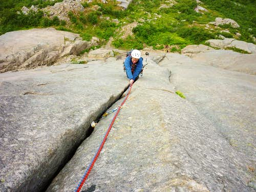 Bare Blåbær third pitch\'s crack