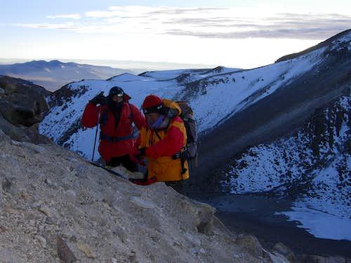 Daybreak on La Azufrera Route, Nevado Chachani