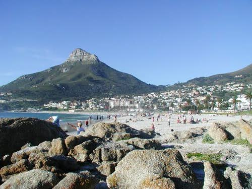View of Lion's Head from the...