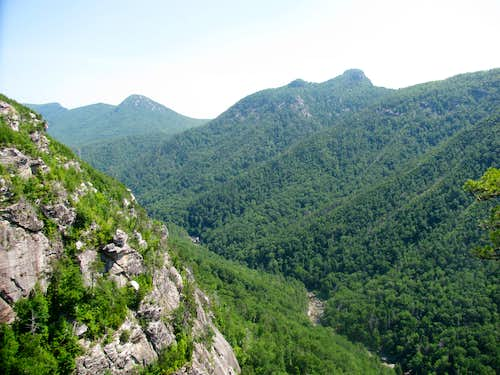 North End of Linville Gorge