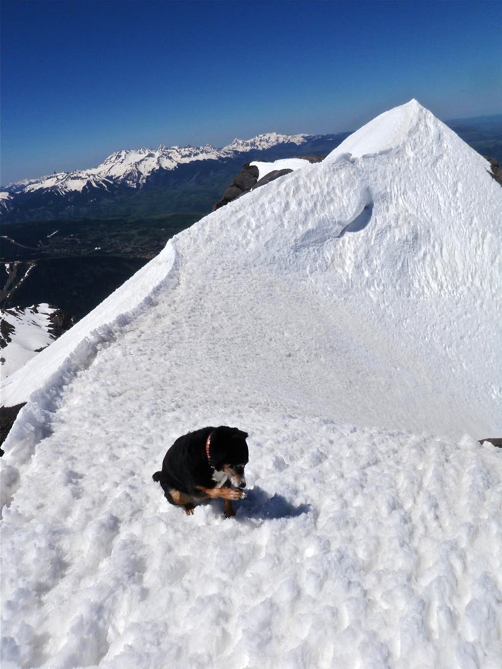 Summit of Mount Emma