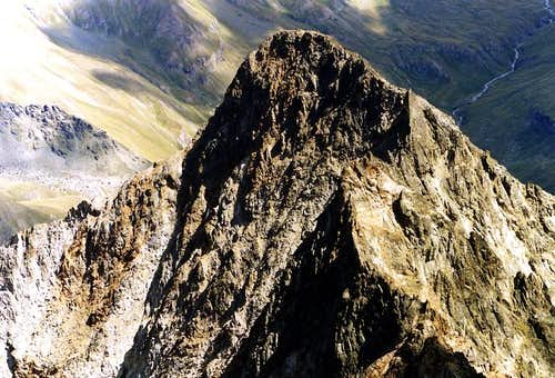 MOUNT GRAUSON from GARIN PEAK & Grauson-Ervillères Vallon