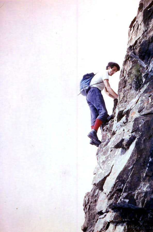 The last ascent together