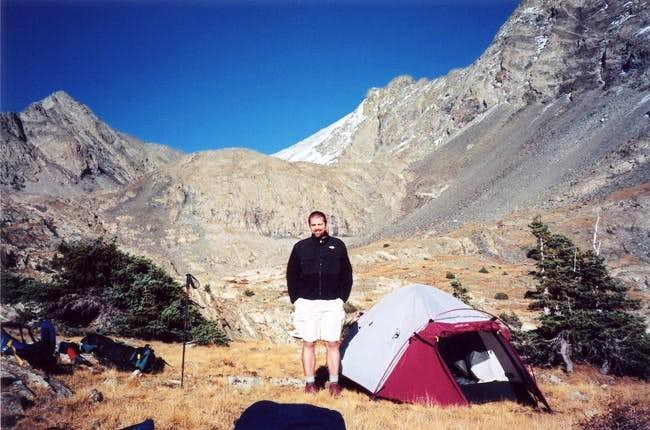 Mid October of 2003--at camp...