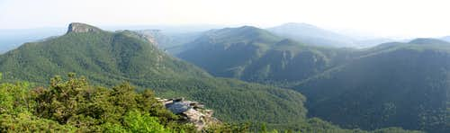 Linville Gorge Panorama