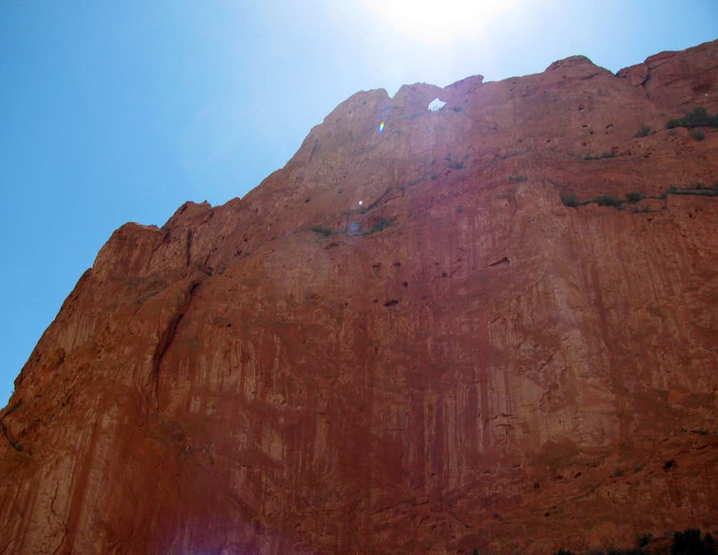 Kissing Camels Arch