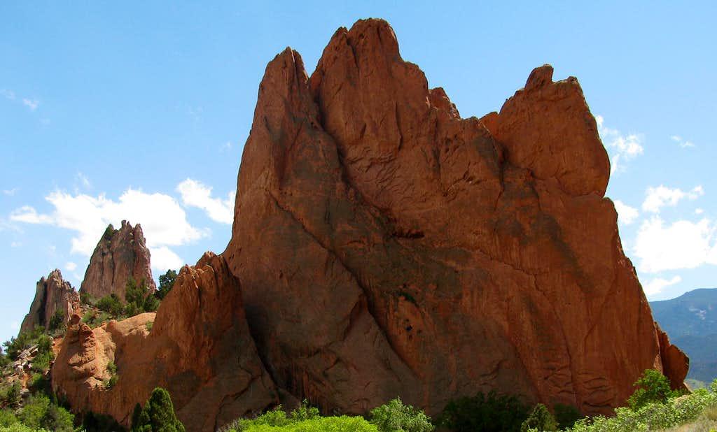 Gray Rock and South Gateway Rock ..