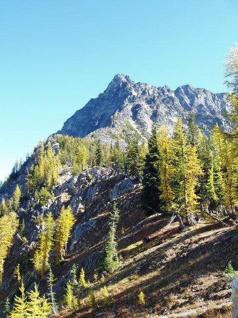NW ridge of Reynolds Pk....