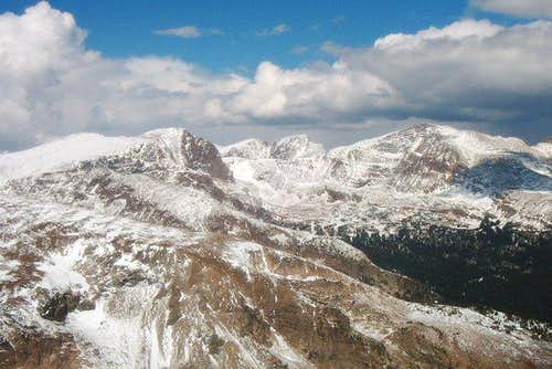 McHenrys Notch from Copeland Mountain