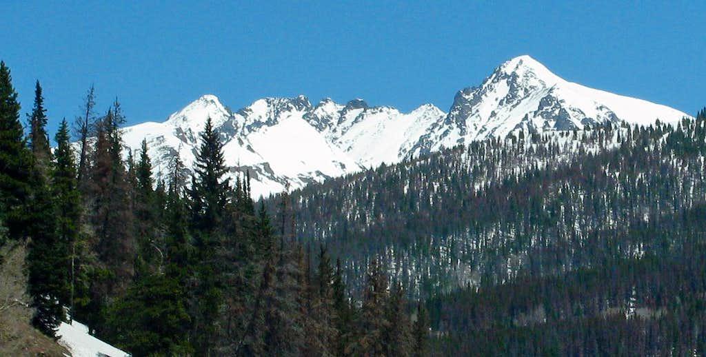 Gore Range Peak