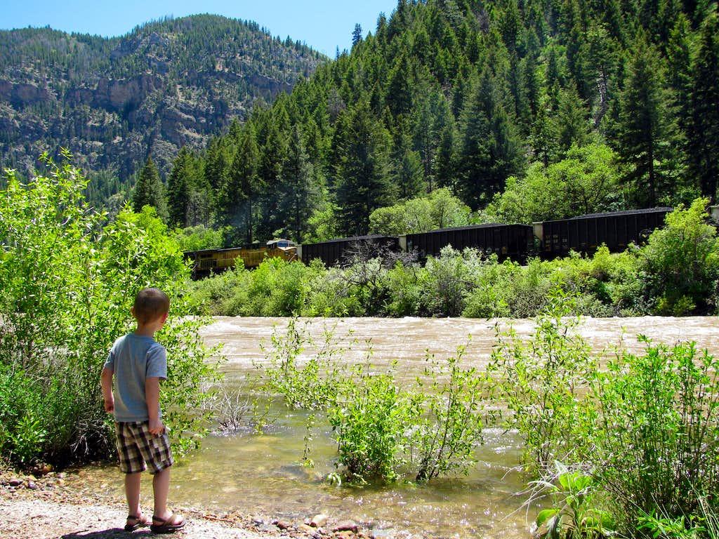 Glenwood Canyon Train