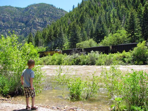 Glenwood Canyon Train
