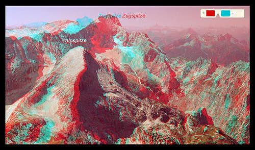Red-blue-anaglyph 3D-picture...