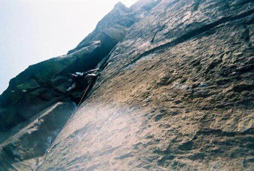 THE Pitch! (Naked Edge 5.11b R) Eldorado Canyon, CO