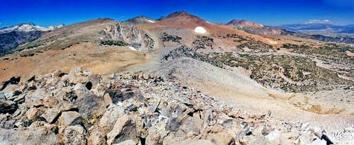 Lee Vining Peak north pano