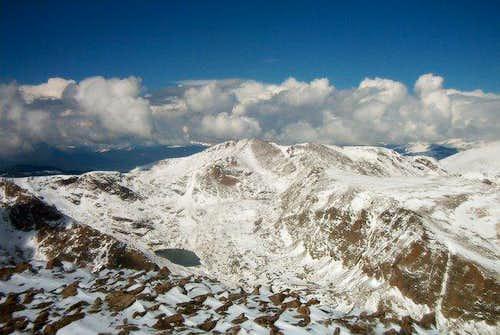 Isolation Peak from Copeland Mountain