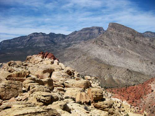 Red Cap and Turtlehead Peak