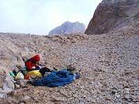Bivvy at the top of Apiskar...