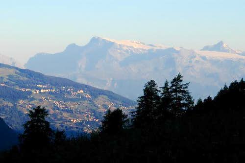 Les Diablerets from Val...