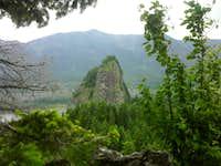 Beacon Rock from Little Beacon Rock