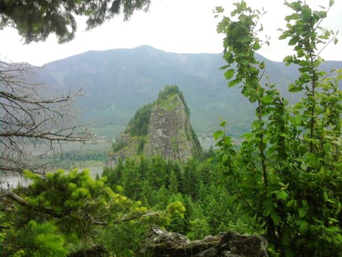 Beacon Rock from Little Beacon Rock