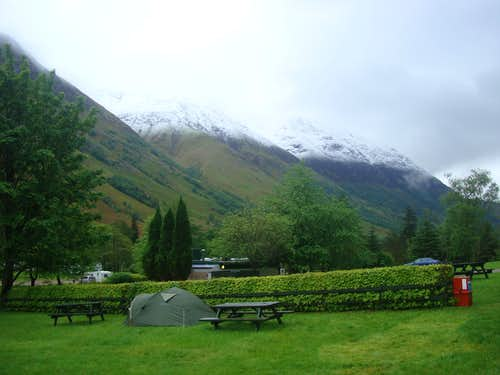 May snow on the Ben