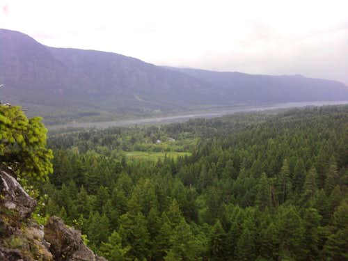 View from Summit of Little Beacon Rock
