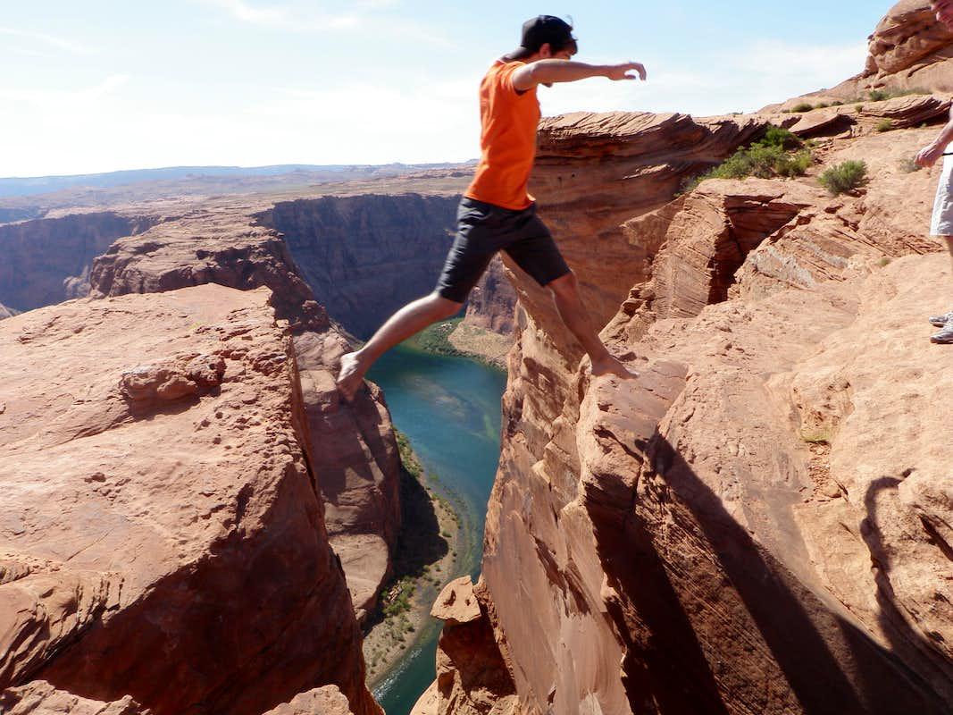 Jumping the gap photos diagrams topos summitpost for Jump the gap