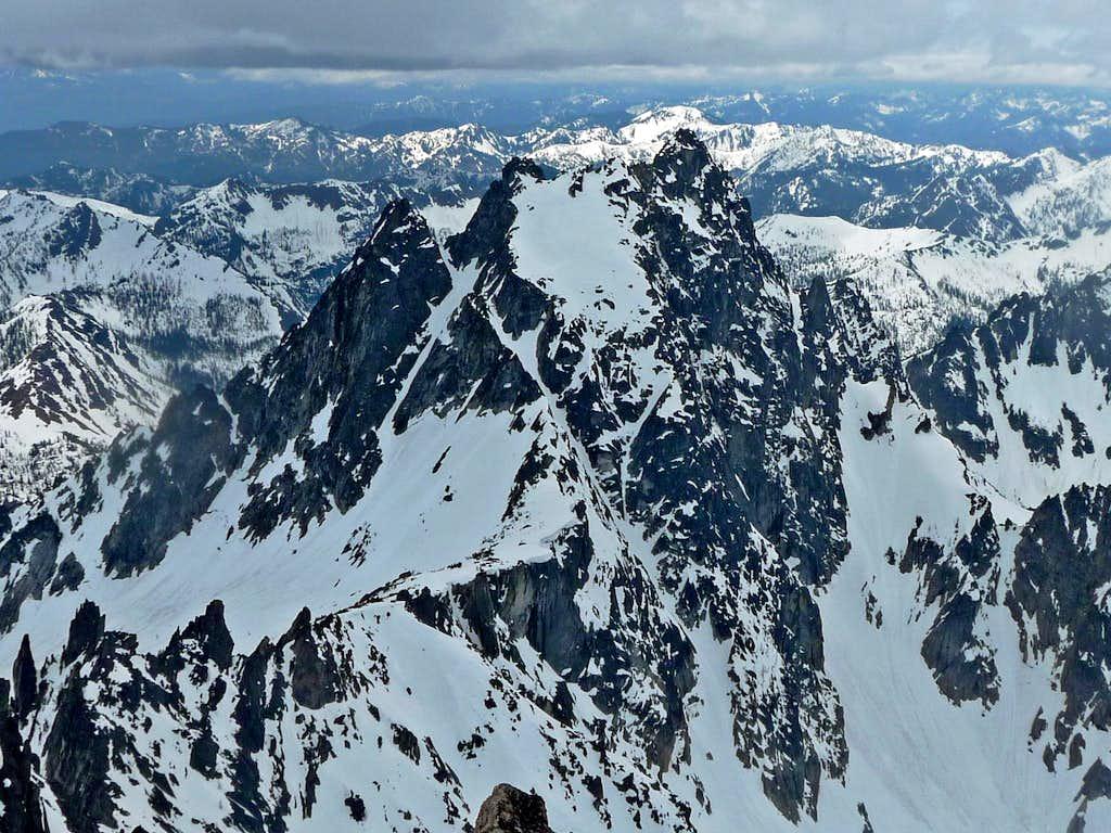 Argonaut Peak's North Face